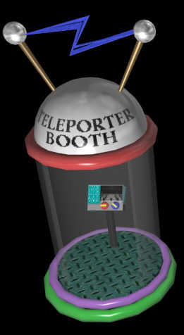 The Teleporter Booth