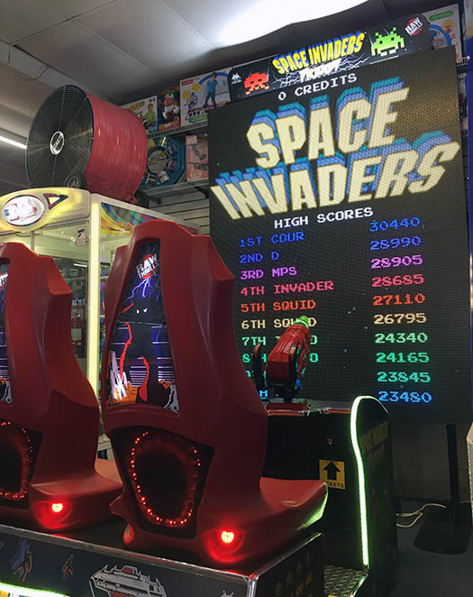 Space Invaders Frenzy.